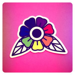 Pride Flower Sticker